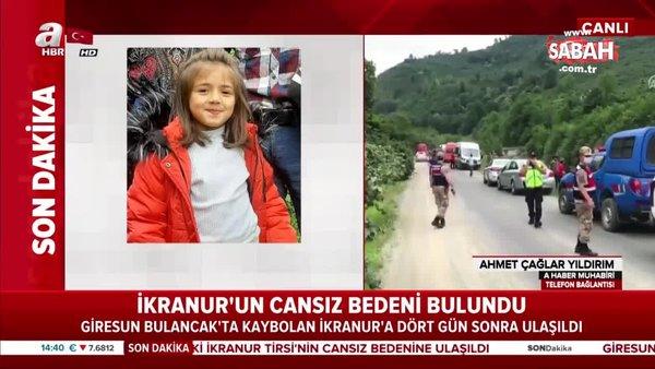 Son dakika: Giresun'da kayıp İkranur'dan acı haber! Cansız bedeni dört gün sonra... | Video