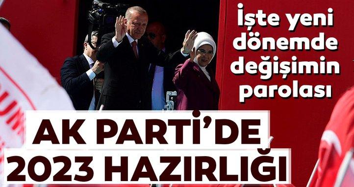 AK Parti'de değişim sonbaharda başlıyor