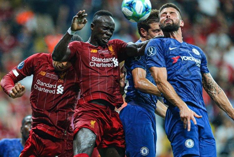 İşte Liverpool ve Chelsea arasında oynanan Süper Kupa finalinden kareler