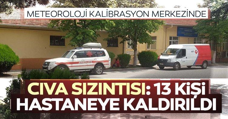 Son dakika: Meteoroloji merkezinde cıva sızıntısı: 13 kişi hastaneye kaldırıldı!