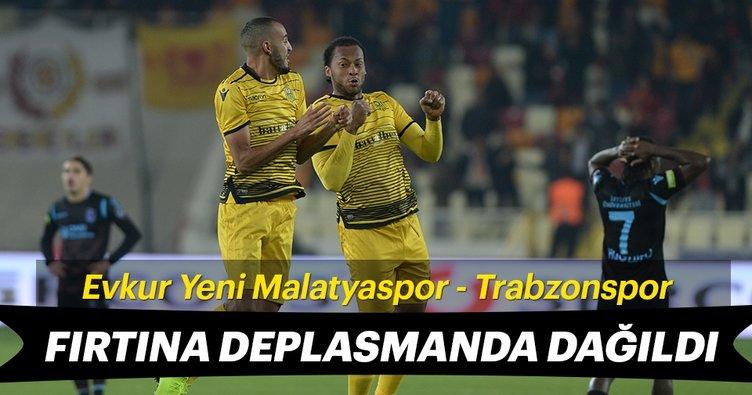 Trabzonspor farklı yenildi