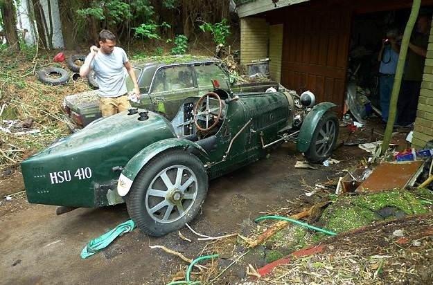 Bugatti sahte çıktı