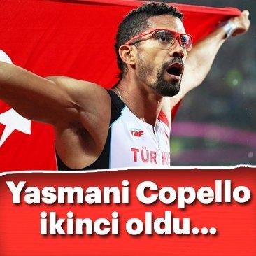 Yasmani Copello ikinci oldu