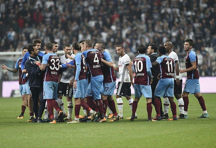 Beşiktaş-Trabzonspor maçından sonra tartışma çıktı
