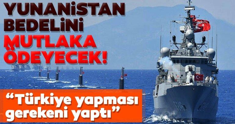 Son dakika haberi: Yunanistan, Oruç Reis hamlesinden sonra çıldırdı! Doğu Akdeniz'de kendi iddiasını çürüttü