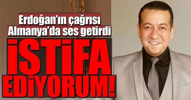 CDU Hamm eski yöneticisi Erdoğan'ın çağrısı üzerine partisinden istifa etti