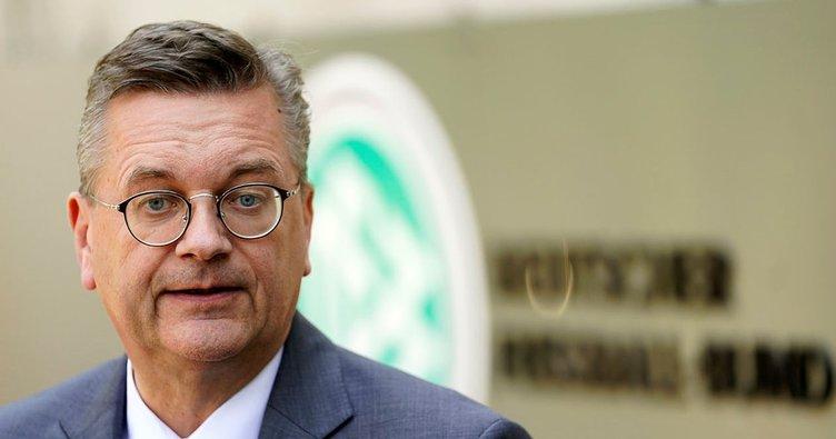 Almanya Futbol Federasyonu Başkanı Reinhard Grindel çark etti
