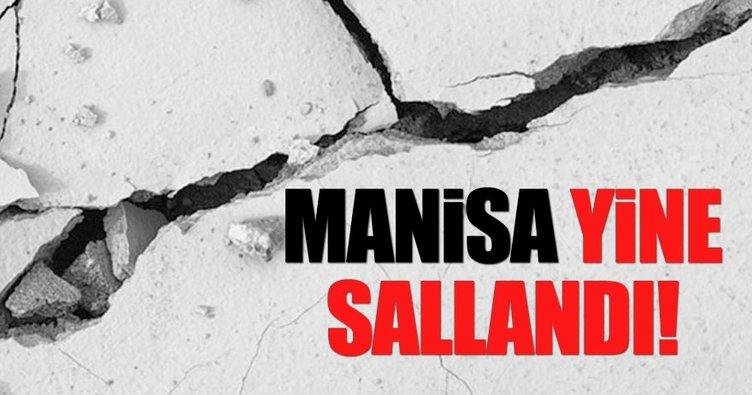 Manisa'da bir deprem daha! - Kandilli Rasathanesi'nden deprem açıklaması