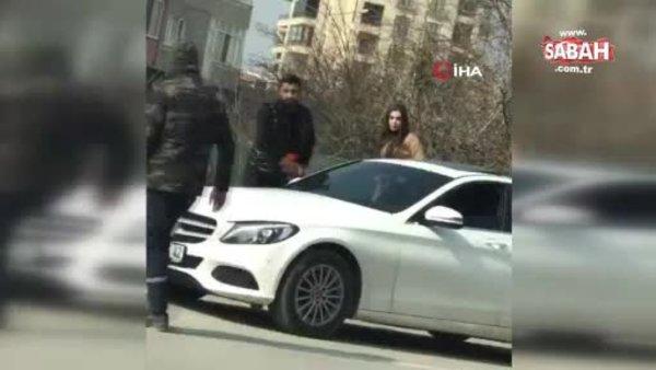 Bursa'da bir kadın, Kadınlar Günü'nde sokak ortasında darbedildi | Video