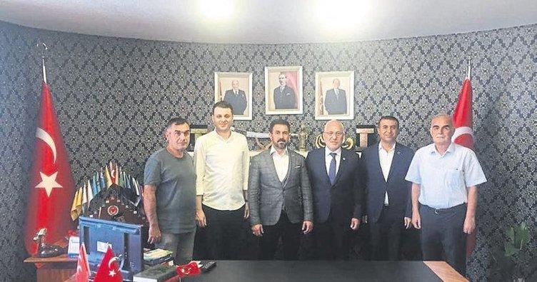 Başkan Tosyalı'dan MHP'ye ziyaret