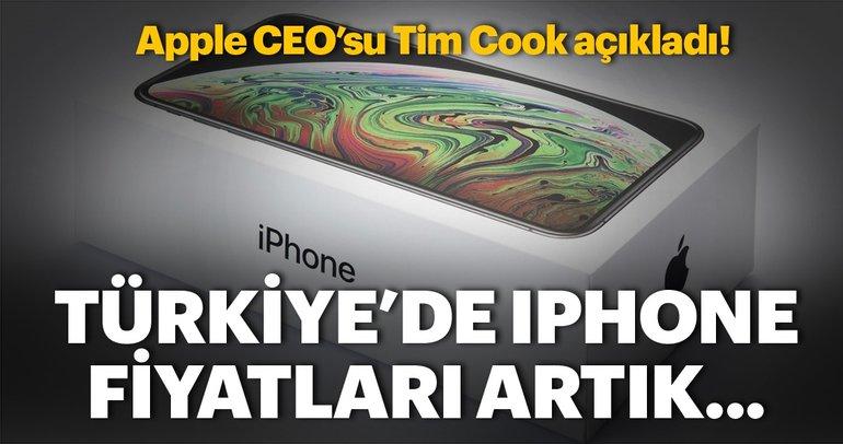 Türkiye'de iPhone fiyatları artık... Apple CEO'su Tim Cook açıkladı!