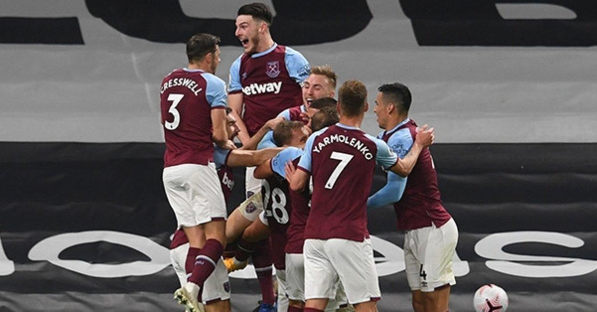 Tottenham şokta! West Ham 3-0'dan döndü   Tottenham 3-3 West Ham United