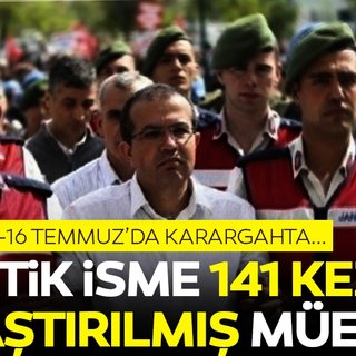 Darbe girişiminin failleri cezasız kalmadı: Partigöç'e 141 kez ağırlaştırılmış müebbet!