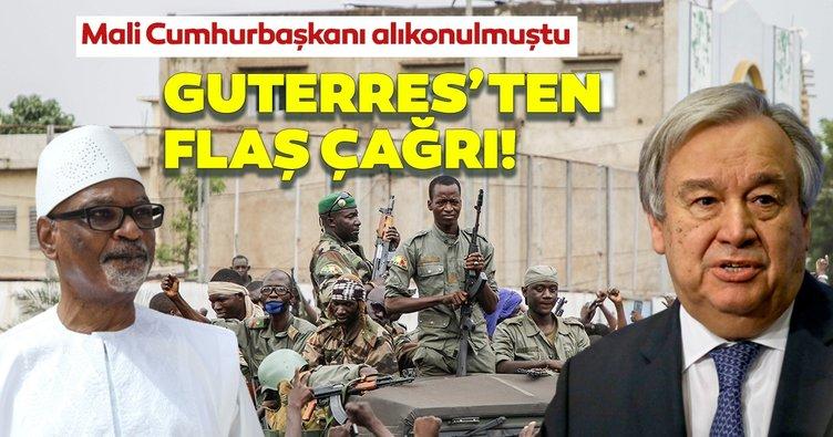 BM Genel Sekreterinden Mali Cumhurbaşkanı Keita derhal serbest bırakılsın çağrısı