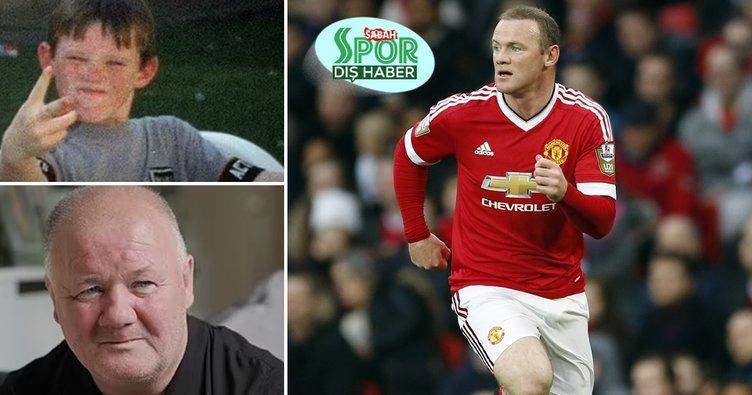 Manchester United'ın eski yıldızı Wayne Rooney'den çarpıcı itiraflar! Küçükken babam beni döverdi...