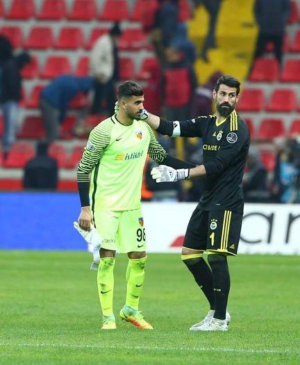 Kayserispor'un genç kalecisi Vedat'ın hüzünlü gecesi...