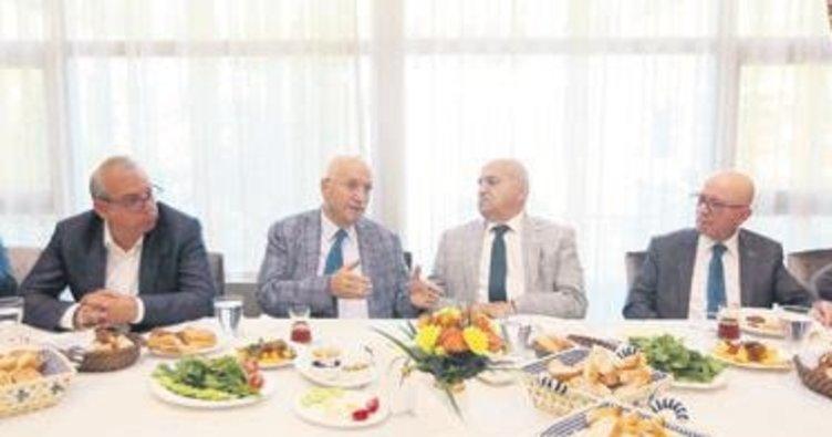 Başkanlar üretimi masaya yatırdı