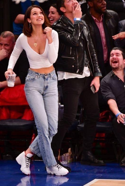 NBA'de Bella Hadid rüzgarı!