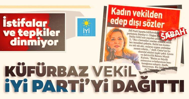 Son dakika: Edep sınırlarını aşan İYİ Partili Vekil Aylin Cesur, teşkilatı çileden çıkardı! İstifa eden İl Başkanı'ndan şok sözler