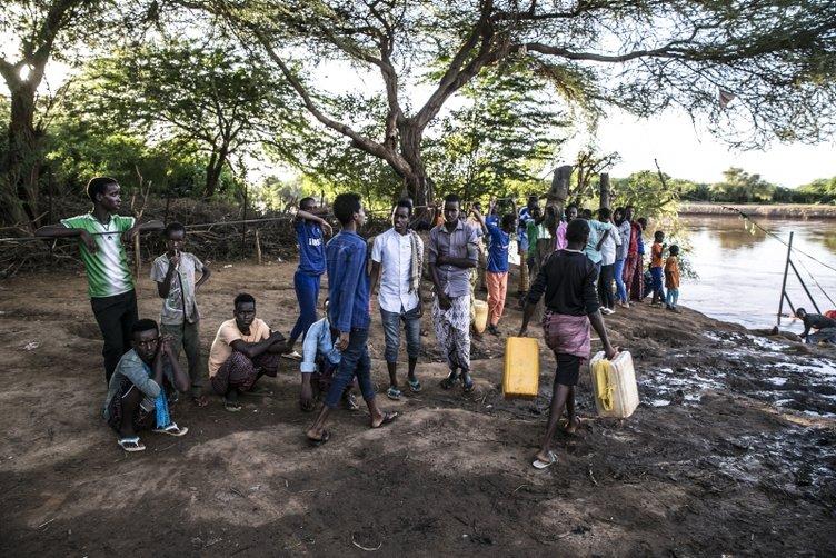 Somali ve Etiyopya'yı salla birleştiren nehir: Cubba