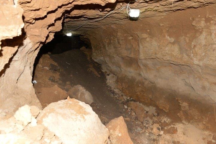 Bizans tünelleri ortaya çıkarıldı