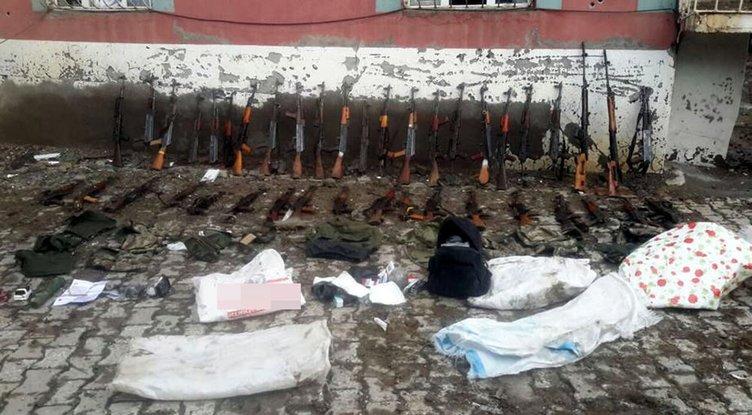 Yüksekova'da PKK'ya büyük vurgun!