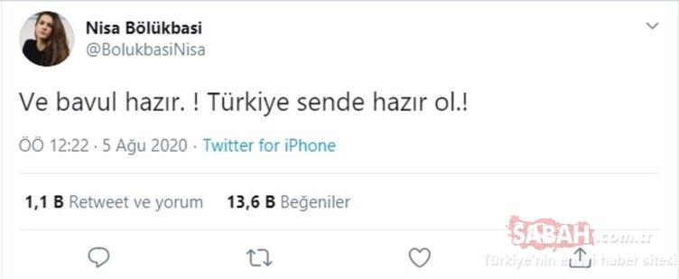 Survivor Nisa Bölükbaşı ve Barış Murat Yağcı'dan müjdeli haber! Nisa Bölükbaşı 'hazır olun' dedi Barış Murat Yağcı ise...