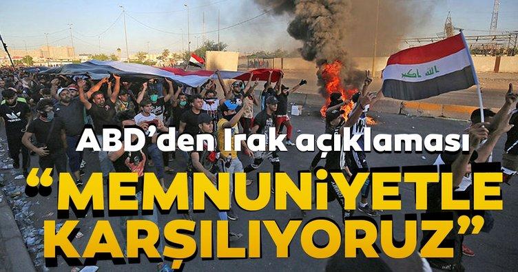 ABD yönetiminden Irak açıklaması