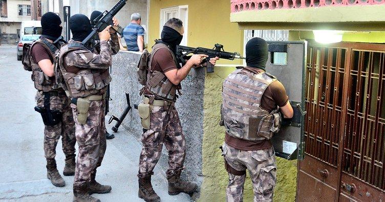 Zonguldak'ta terör operasyonu