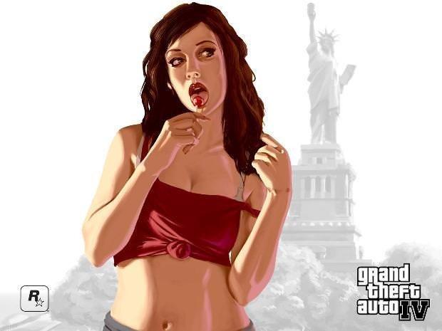 GTA'nın baştan çıkaran kızları