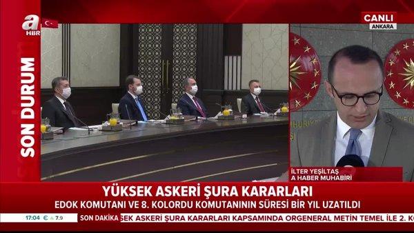 Cumhurbaşkanı Erdoğan 2020 YAŞ kararlarını imzaladı! İşte YAŞ kararları ile terfi eden general, amiraller... | Video