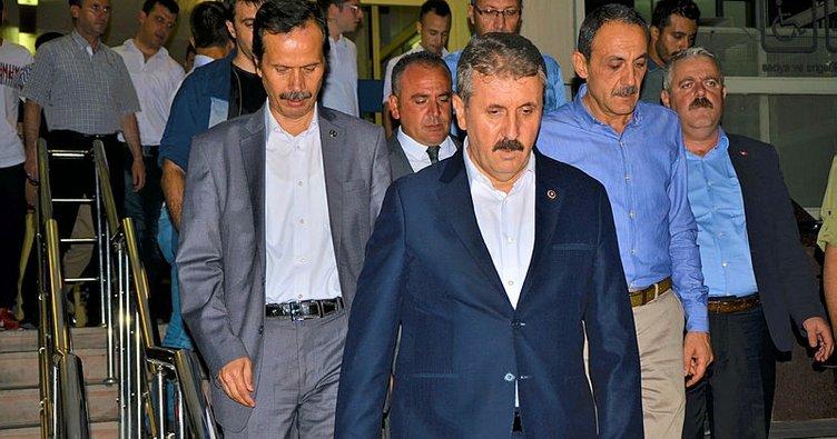 Son dakika: BBP lideri ve AK Parti Milletvekili Mustafa Destici'nin abisi kaza geçirdi