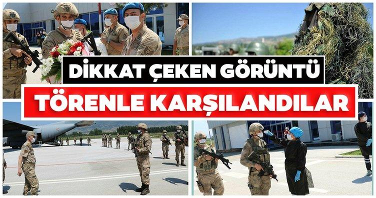 Boralar timi böyle karşılandı! Barış Pınarı Harekatı bölgesinde görev yaptılar!