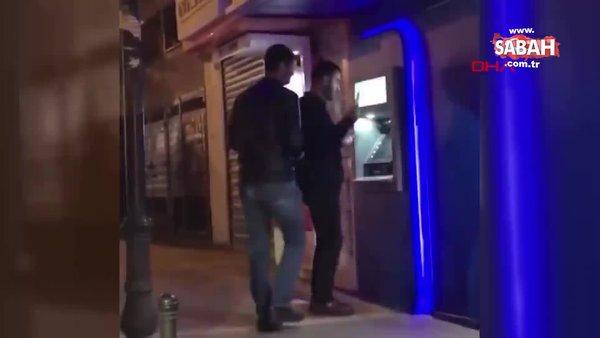 Ankara çaldıkları paraları halay çekerek ATM'ye yükleyen dolandırıcılar kamerada | Video