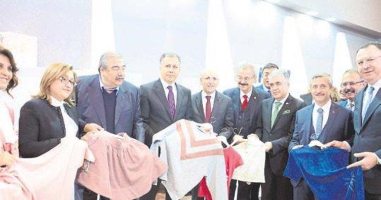 Tekstil ihracatı sevindirdi