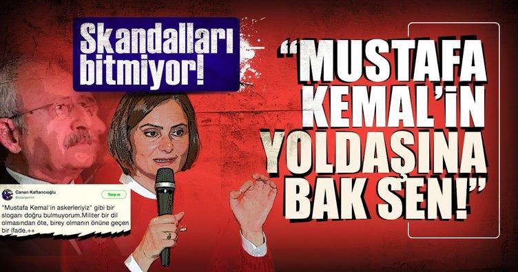 """""""MustafaKemal'in yoldaşına bak sen!"""""""