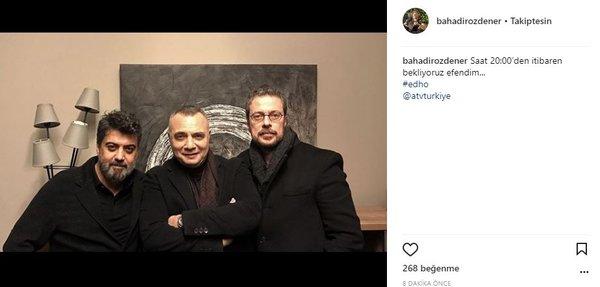 Ünlülerin Instagram paylaşımları (30.01.2018)