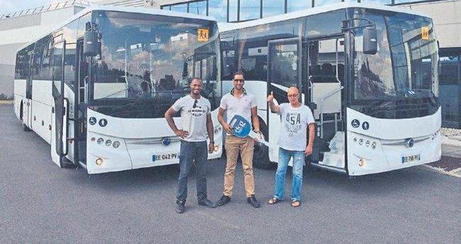 TEMSA'dan Fransa'ya 45 okul otobüsü teslimi