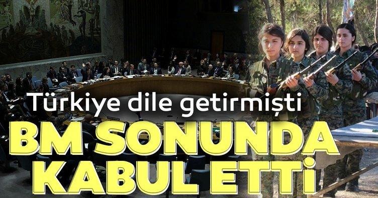 Türkiye dile getirmişti... BM sonunda kabul etti