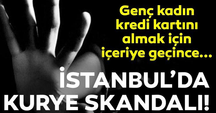 Verdiği yemek siparişi kursağında kaldı! İstanbul'da kurye skandalı...
