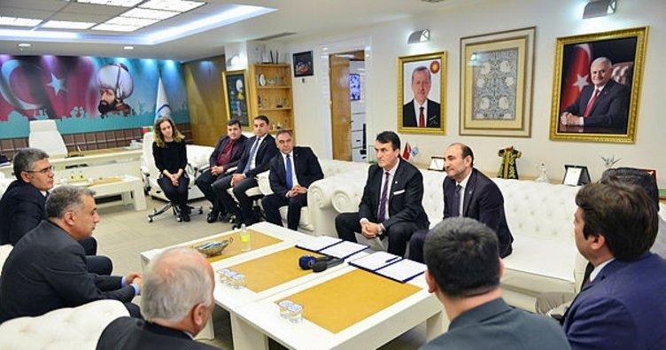 Gökdere'de yeni imar planı için belediyelerden iş birliği