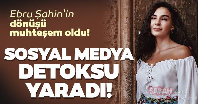 Hercai'nin Reyyan'ı Ebru Şahin'in Instagram'a dönüşü muhteşem oldu... Ebru Şahin'e sosyal medya detoksu yaramış!