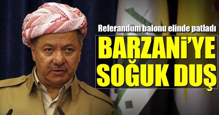 Barzani'ye soğuk duş: 'Referandum ertelensin' dediler