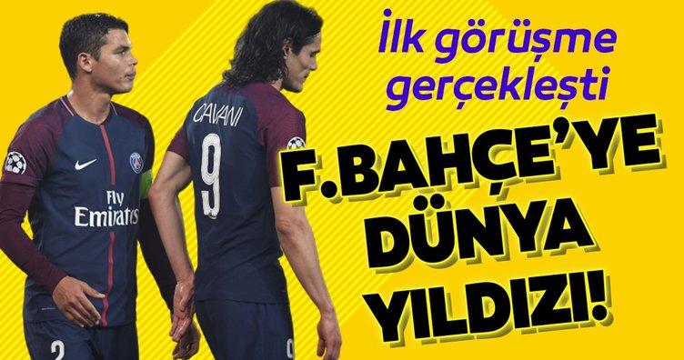 İlk görüşme gerçekleşti! Fenerbahçe'den dev transfer bombası