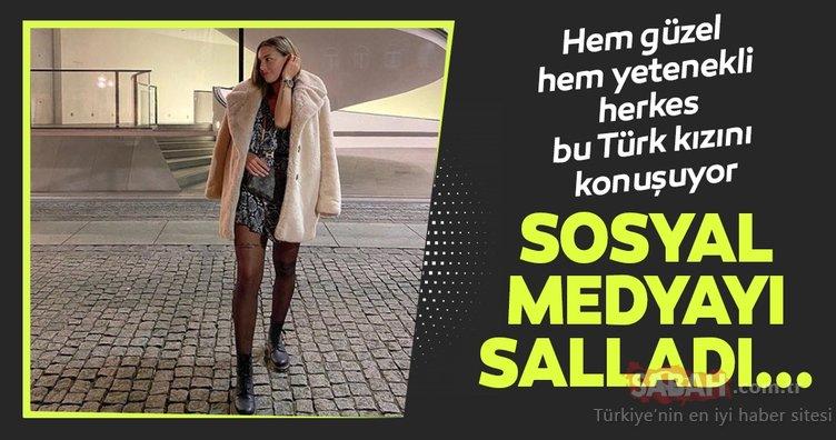Türk futbolcu Aycan Yanaç güzelliği ve yeteneği ile herkesi büyülüyor