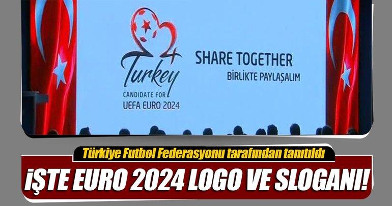 EURO 2024 adaylığımızın logo ve sloganı tanıtıldı.