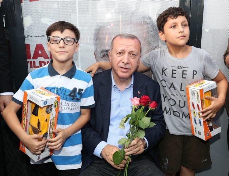 Başkan Erdoğan'dan sürpriz ziyaret