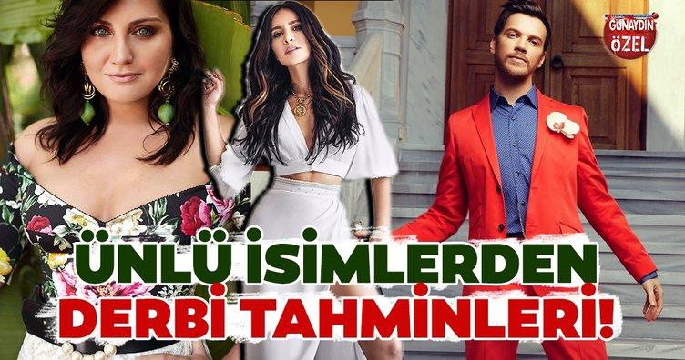 Galatasaray- Fenerbahçe derbisinin heyecanı sanat dünyasını sardı! İşte ünlü isimlerden derbi tahminleri...