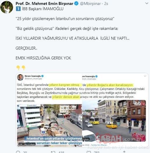 Prof. Dr. Birpınar, Ekrem İmamoğlu'nun emek hırsızlığını tek tek deşifre etti!