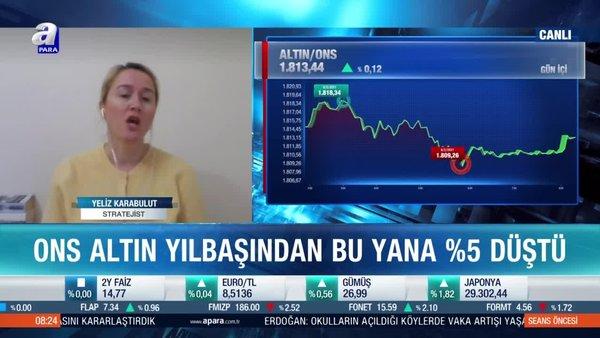 Altın fiyatları için düşüş sürecek mi? Yeliz Karabulut: Altının hikayesi bitti